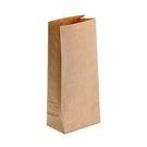 Пакет бум. 80*50*170 б/п крафт (600)