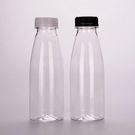 Бутылка ПЭТ 0,5л  б/ц молочн.с крышкой 38мм (50) А