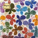 Салфетки 3сл 24х24см Bouquet Original de Luxe Романтические бабочки 25шт (15)